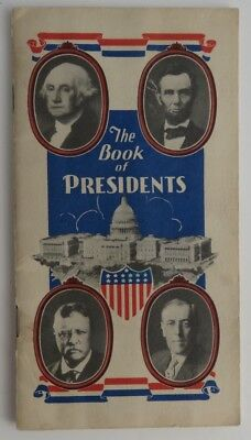 1948 Book Of Presidents By Magnus New Jersey   (Inv1738)