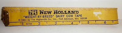New Holland Weight By Breed Dairy Cow Tape