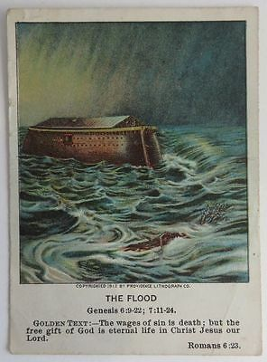 1913 Berean Lesson Pictures #1  The Flood              (Inv9320)