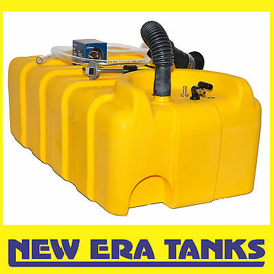 90 litre diesel tank - 38mm straight inlet - filler, breather kit, sender, gauge
