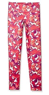 NWT Adidas Girls/Womens Floral Splatter Leggings BA4602 $40 (6F)