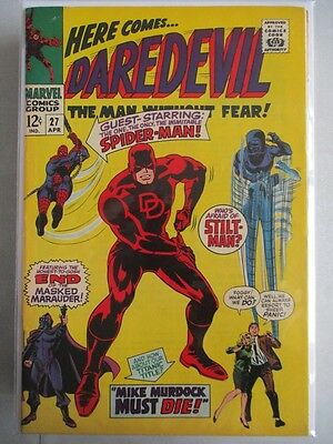 Daredevil Vol. 1 (1964-2011) #27 VF+ With Spider-Man