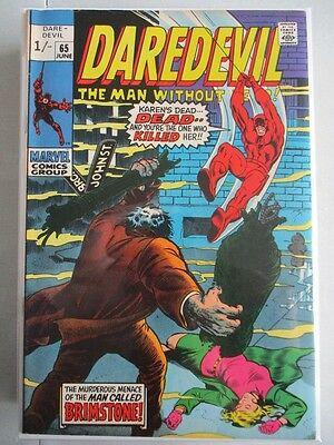 Daredevil Vol. 1 (1964-2011) #65 VF/NM UK Price Variant