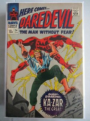 Daredevil Vol. 1 (1964-2011) #24 VG/FN (Cover Detached) UK Price Variant