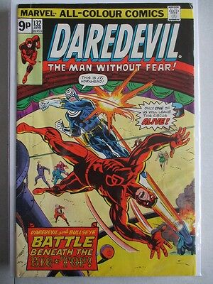 Daredevil Vol. 1 (1964-2011) #132 VG/FN 2nd Bullseye UK Price Variant