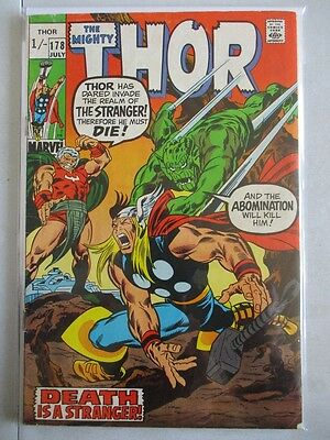 Mighty Thor Vol. 1 (1966-2011) #178 FN UK Price Variant