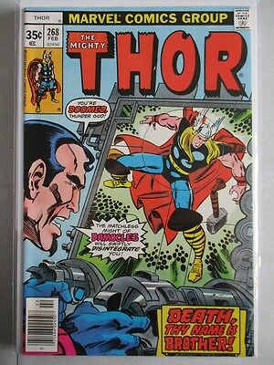 Mighty Thor Vol. 1 (1966-2011) #268 NM-