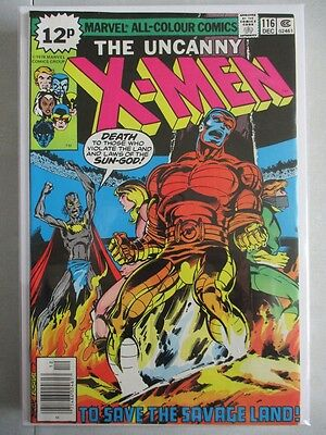 Uncanny X-Men Vol. 1 (1963-2011) #116 VF/NM UK Price Variant