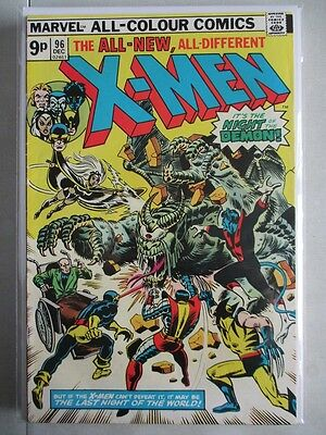 Uncanny X-Men Vol. 1 (1963-2011) #96 VF- 1st N'Garai UK Price Variant