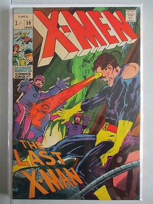 Uncanny X-Men Vol. 1 (1963-2011) #59 VF 1st Lykos UK Price Variant