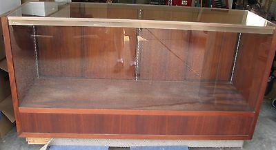 Antique or Vintage Store Display Case fixture Wood Glass