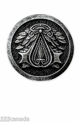 Assassins Creed Ezio Official Metal Pin - NEW - Syndicate Unity Connor Origins