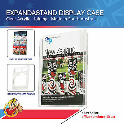 Wall Mounted Brochure Holder, A4 Brochure Holder,  Expandastand, Flyer Display