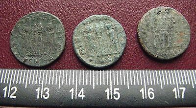 "Authetic Ancient Roman Coins > Lot of 3 ""HIGHEST"" Quality Coins  GB 35"