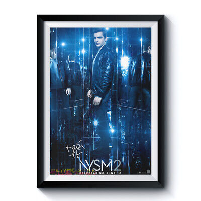 NYSM2 DAVE FRANCO Autographed RPT Movie Poster 12x17 NOW YOU SEE ME 2 2016 Film