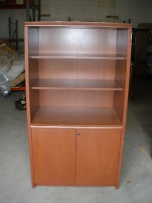 47872 T7:    TEKNION Bookcase Cabinet Modern Office Furniture