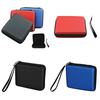 Hard Cover Travel Carry Case Bag Box with Hand Strap for Nintendo 2DS Console
