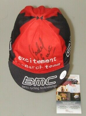 CADEL EVANS Hand Signed Cycling Cap