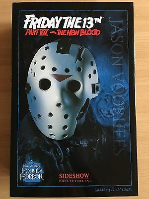 "Sideshow Friday The 13th VII ""Jason Voorhees The New Blood"" Action Figure"