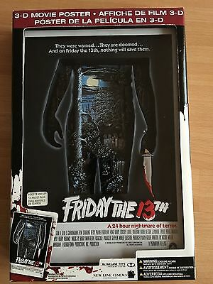 "Mc Farlan Toys ""Friday The 13th 3d Movie Poster"""