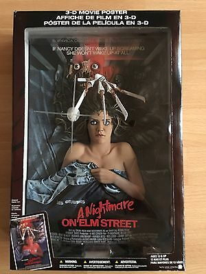 "Mc Farlan Toys ""A Nightmare On Elm Street 3d Movie Poster"""