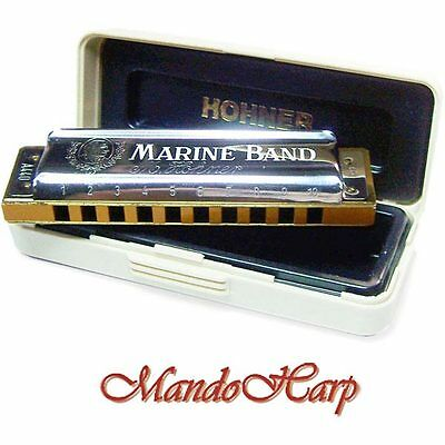 Hohner Harmonica - 1896/20 Marine Band Classic (SELECT KEY) NEW