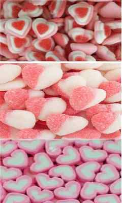 Pink DIY Candy Lolly Bar Marshmallow Heart Gummy Wedding Party Favour 3kg