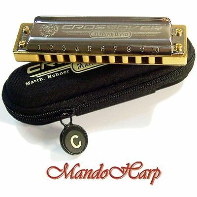 Hohner Harmonica - 2009/20 Marine Band Crossover (SELECT KEY) NEW
