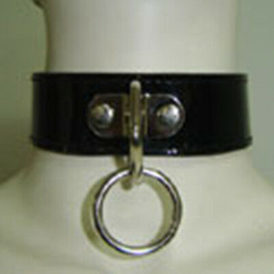 Collier Soumission  Noir - Neuf-Fetish Bdsm-  Red Collar