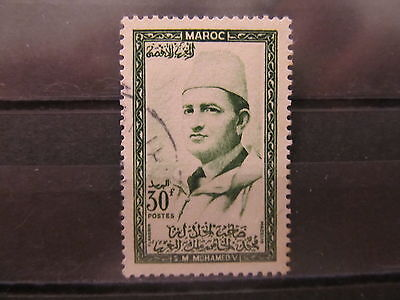 A2P21 MOROCCO 1956-57 30fr USED