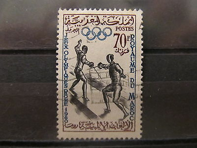 A2P21 MOROCCO 1960 70fr USED