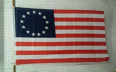 3' X 5' Betsy Ross Polyester Usa Flag