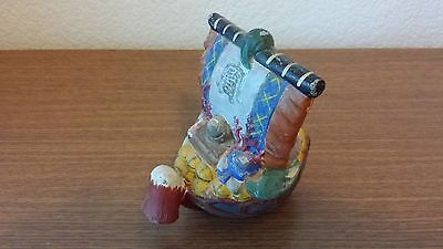Japanese Antique Ship Figurine Doll Ornament From Japan Circa 1900