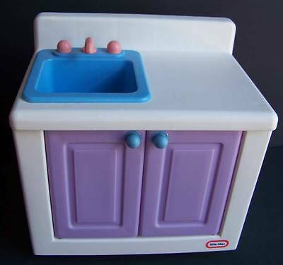 1:6 Little Tikes My Size 3' Dollhouse Kitchen Furniture Barbie Doll Sink Only