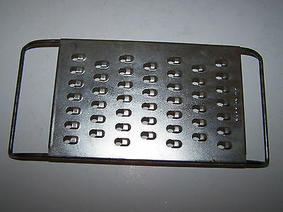Vintage Made In Usa Metal Grater/shredder