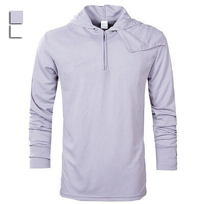 New Fishing Breathable sun protection clothing Men's Hoodie tops shirts WY0009