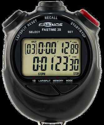 Fastime 20 Dual Display 10 lap memory Stopwatch