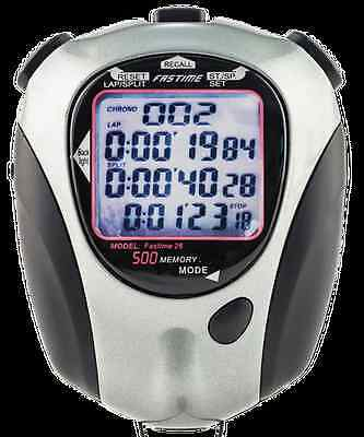 Fastime 26 Stopwatch with 500 lap memory