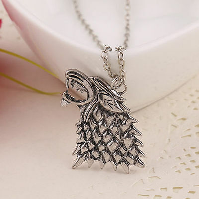 collier game of thrones Loup Stark