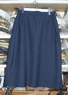 German Air Force Woman's Blue Lined A Skirt (Gs1)