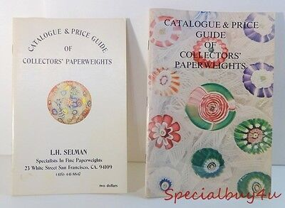 Vintage L.H. SELMAN Catalogue & Price Guide by PaperWeights Specialists Pictures