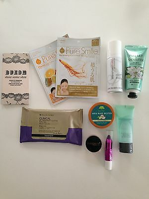 10 Beauty Deluxe & Full Samples BIRCHBOX IPSY GLOSSYBOX LUXE BOX Makeup Skincare