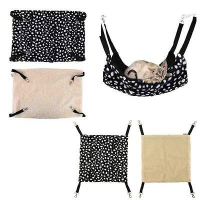 Polk Dot Pet Rabbit /Ferret Chinchilla/Cat Cage Hammock Small Dog Bed Cover Bag