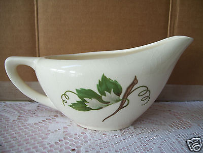 Rare Edwin Knowles GRAPEVINE Coffee Creamer  Good Condition.