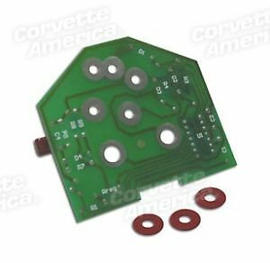 80-82 Corvette NEW Tachometer Printed Circuit Board X2486