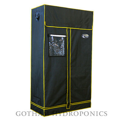 "48""x24""x84"" Mylar Lighthouse Hydroponics Grow Tent Room 4'X2'X7' Clone T025"