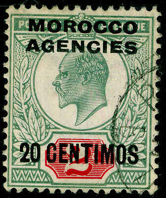 Sg115, 20c on 2d pale grey-green & carmine-red, VERY FINE used.