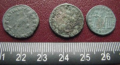 "Authetic Ancient Roman Coins   Lot of 3 ""HIGHEST"" Quality Coins  GB 12"