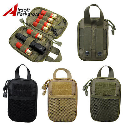 1000D Molle Military Tactical Waist Bag Tools Accessory Pouch Outdoor Camping