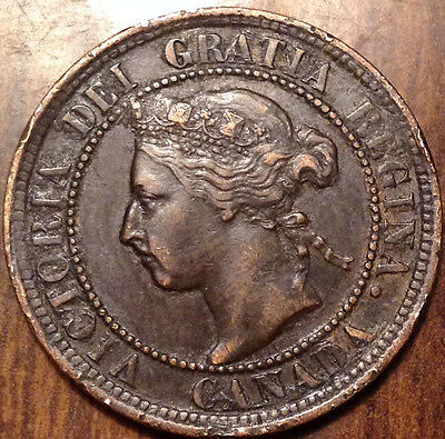 1900H Canada Large Cent Great Penny Some Corrosion